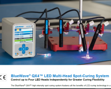 Dymax BlueWave® QX4™ LED Multi-Head Spot-Curing System