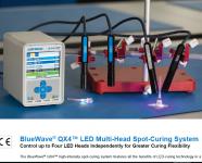 Dymax BlueWave® QX4™ LED Multi-Head Spot-Curing System